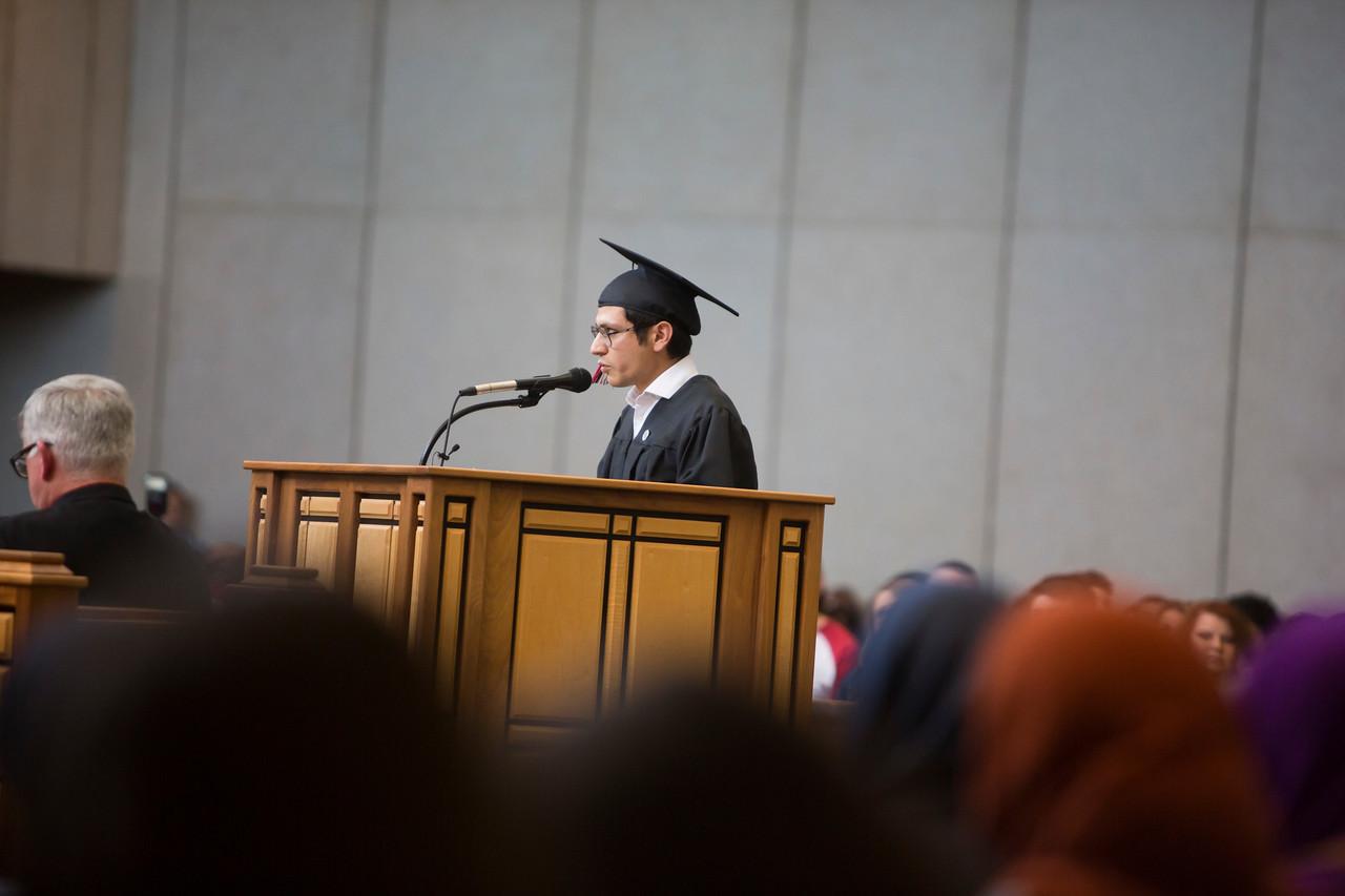 Diego Payan, graduation speaker #2