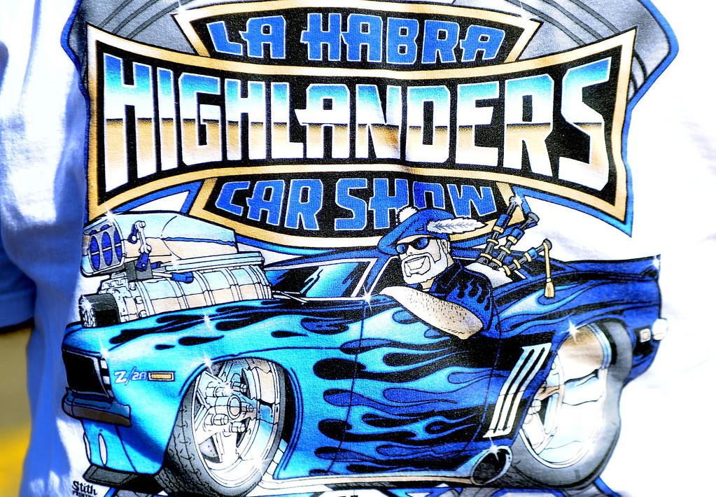 . The 4th annual La Habra Highlanders car show at La Habra High School in La Habra Calif. on Saturday, Sept. 7, 2013.   (Photo by Keith Birmingham/Pasadena Star-News)