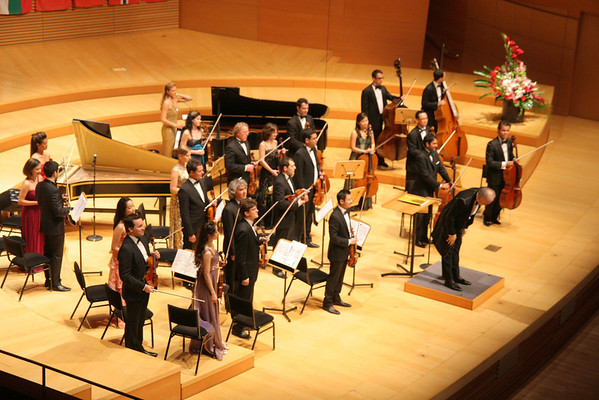 Disney Hall performance