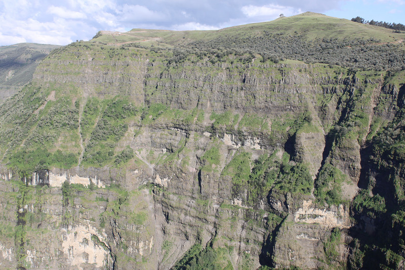 11,000' in Semien Mountains