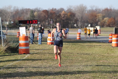 D2 Girls' at 2 Miles Section 2 - 2020 MHSAA LP XC