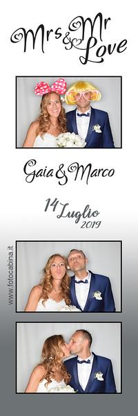 Photo booth matrimonio Gaia e Marco - fotocabina
