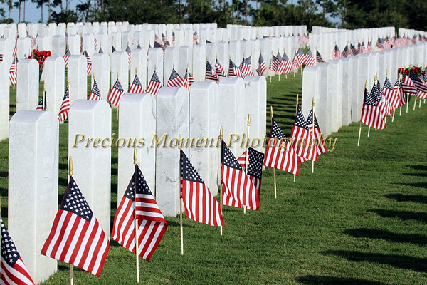 South Florida National Cemetery in Lake Worth, Florida - Memorial Day Celebration 2015