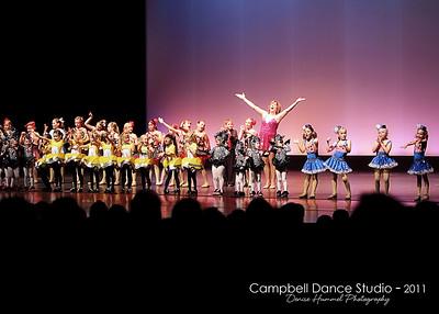 Campbell's Dance Studio - 2011 Recital