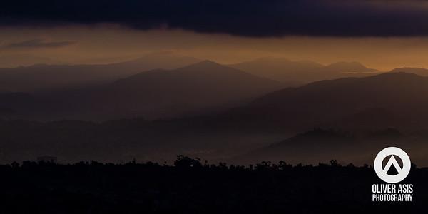 Cowles Mountain - Double Sunrise - 2013