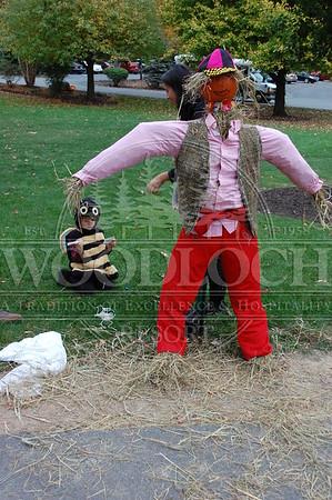 October 16 - Scarecrow Builiding