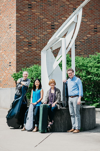 Faculty String Quartet Promotions