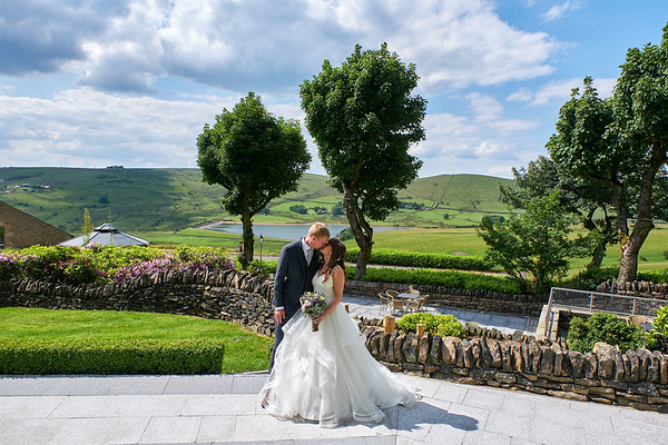 Saddleworth Hotel Wedding Photography - Sophie and Patrick