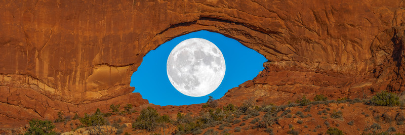 The Desert Moon Fine Art Landscape Nature Photography