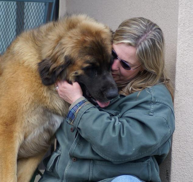 Odin loves his momma Julie