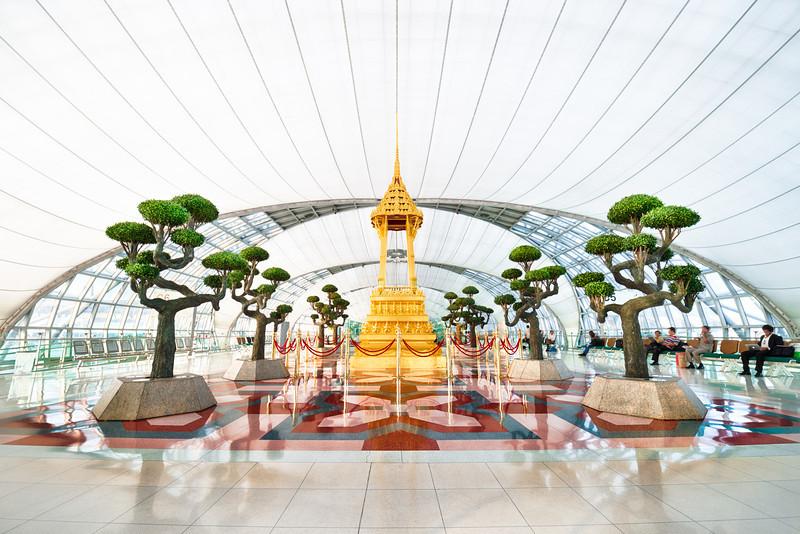 Zen Garden Terminal.  Bangkok, Thailand