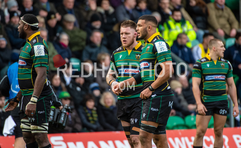 Northampton Saints vs Benetton Treviso, Heineken Champions Cup, Franklin's Gardens, 12 January 2020