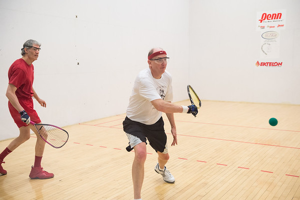 2015 Mid-Atlantic Regional Mens Age Singles - 55+ Mike Wigley over Mitch Posner