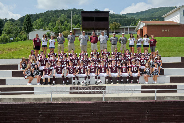 UHS Football and Band Media Day 8-9-2013