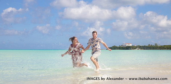 Garrett & Allison | Engagement Session | Exuma, Bahamas