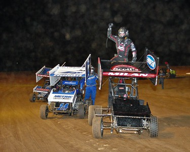 10-19-2019 Feature Winners POWRi Midgets, Outlaw Micros & Factory Stock