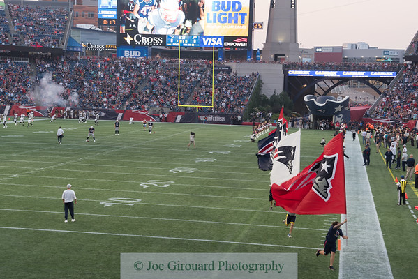 New England Patriots vs Philadelphia Eagles 8/16/2018
