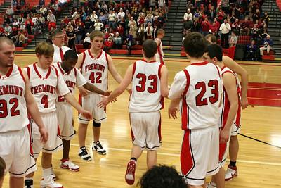 Boys Varsity Basketball - 1/6/2009 Muskegon Heights