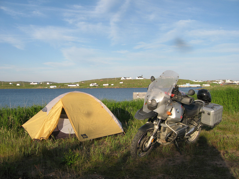 Camping near Red Bay