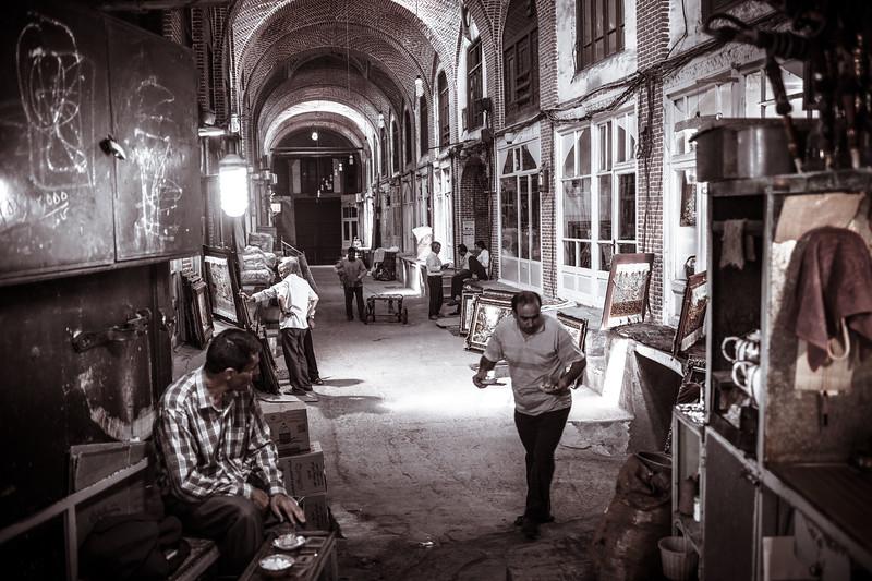 Tea Time in Tabriz Bazaar ( Iran)