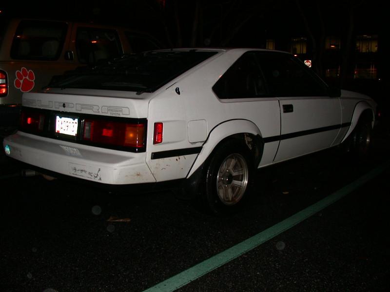 84-86 mk2 in hendrix parking lot