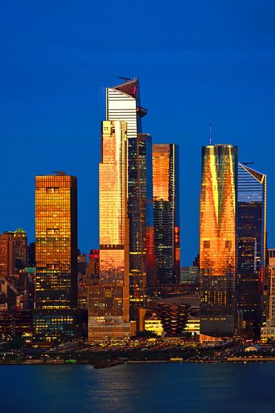 NYC Hudson Yards- August Sundown