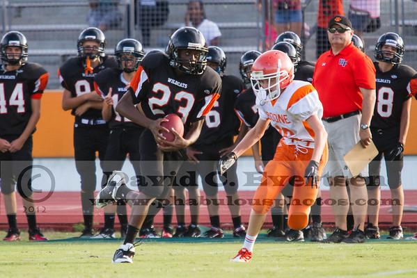 Boone Freshman Football #16 - 2012