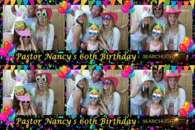 Pastor Nancy's 60th Birthday