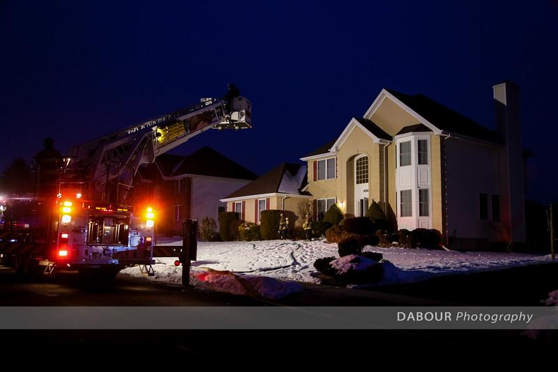 Chimney Fire on Daniel Dr