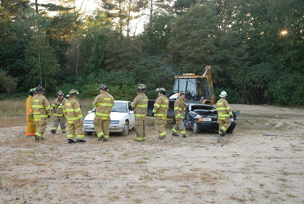 Conway Fire Department Extrication Tool Testing