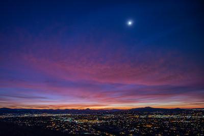 Cowles Mountain - Double Sunrise - 2019