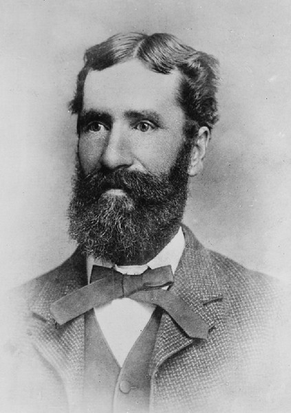 Portrait of C.C. Brown, a pioneer of Pasadena, after 1882