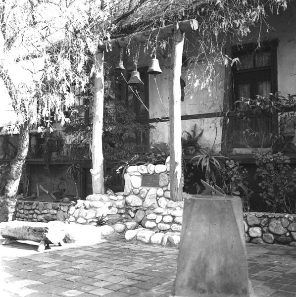 1938, View of Avila Adobe