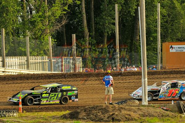 6-18-2014 USRA Iron Man B Modifieds Valley Speedway