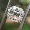 2.39ct Antique Asscher/Square Emerald Cut Diamond, GIA D/IF 18