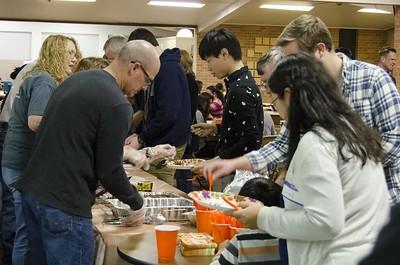 Thanksgiving feast 2017