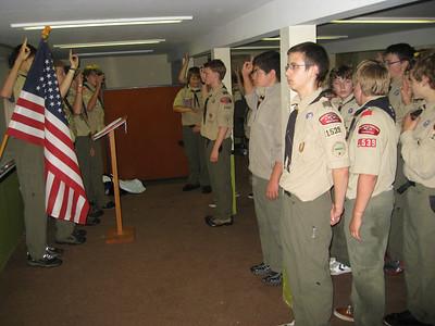Troop Meeting - Sep 27