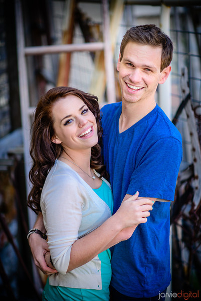 Engagement pictures at Star Mill