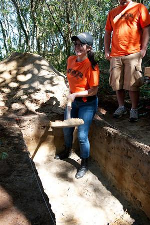 2012 Field Work on Roanoke Island
