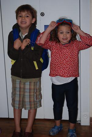 Zeuz's First Day of First Grade: 8/26/09