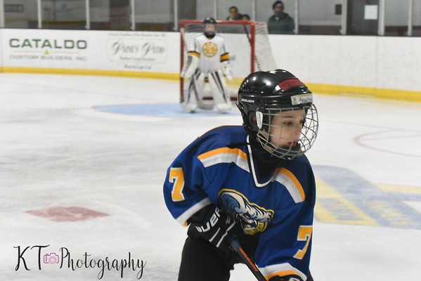 WJHA Mite B - Falmouth Tournament  2/23/19 (morning games)