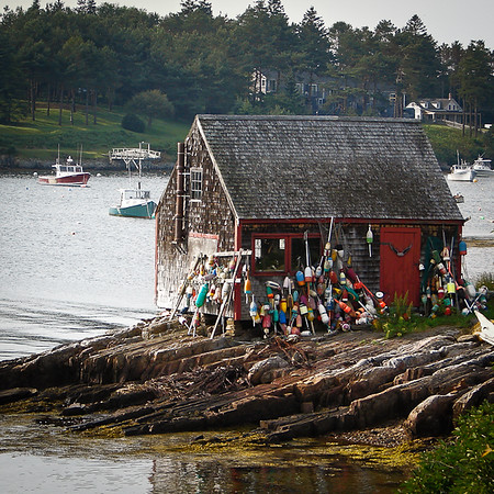 Lobster Shack - Baily's Island, Maine