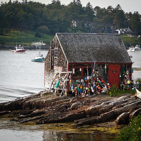 Lobster Shack - Baily's Island, Maine