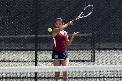 4/14/18: Girls' Varsity Tennis v Deerfield