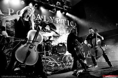 Apocalyptica @ The Hi-Fi, Brisbane - 30 August 2012