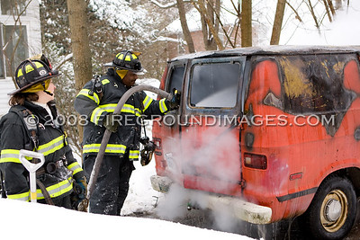 Alpine St. Truck Fire (Bridgeport, CT) 12/20/08