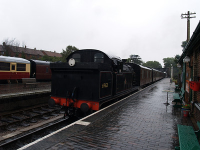 North Norfolk Railway - Sheringham to Holt, UK