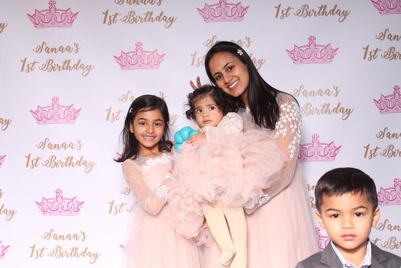 Sanna's 1st Birthday