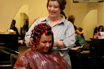 02-14-09 Hair-Getting Ready
