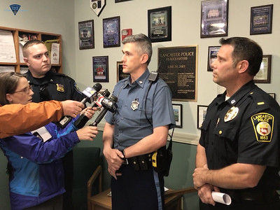 Lancaster Press Briefing After Arrest - 052617